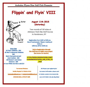 Flippin' and Flyin' VIII Sponsored by Dynamic Discs graphic