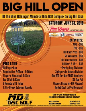Big Hill Open 2018 graphic