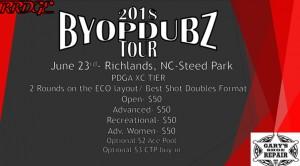 BYOP Dubz Tour Event 2- Richlands graphic
