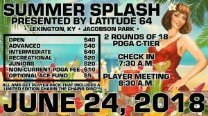 Summer Splash presented by Latitude 64 graphic