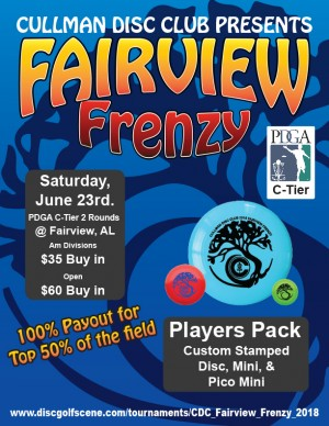 CDC Fairview Frenzy graphic