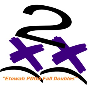 """Etowah PDGA Fall Doubles"" graphic"