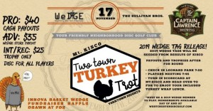 The 6th Annual Two Town Turkey Trot graphic