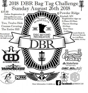 2018 DBR Bag Tag Challenge graphic