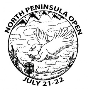 North Peninsula Open sponsored by Discraft graphic