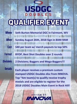 USDGC Doubles Qualifier graphic