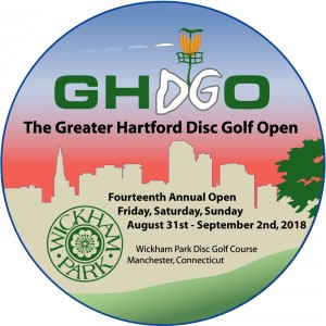 2018 Greater Hartford Disc Golf Open graphic