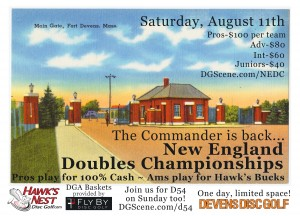 New England Doubles Championships, Powered by Prodigy graphic