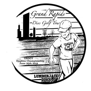 Discraft presents GRDGT Doubles Championships graphic