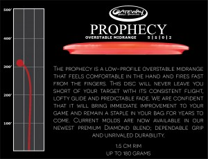 The Prophecy (South Side Skills Competition) Sponsored by Gateway Disc Sports graphic