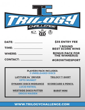 Trilogy Challenge at Dodds Park graphic