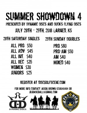 Summer Showdown 4 (Doubles) graphic