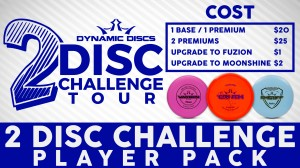 Random Draw 2 Disc Dinner Dubs presented by Latitude 64 graphic