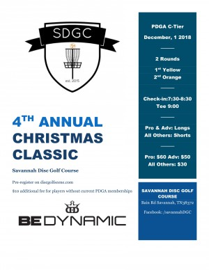 4th Annual Christmas Classic graphic