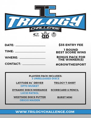 Cameron Disc Golf Club 2018 Trilogy Challenge (Revised) graphic