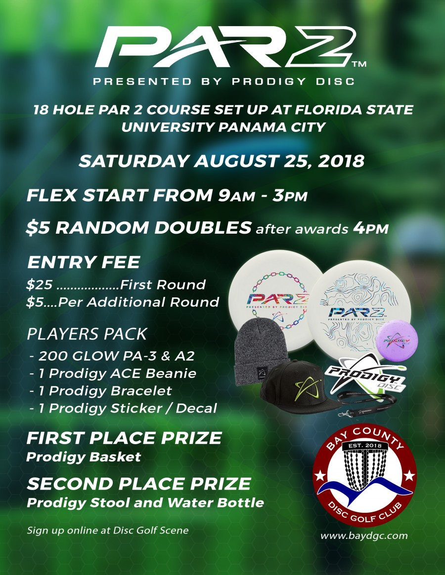 Bay County Par 2 Presented By Prodigy Discs (2018, Bay