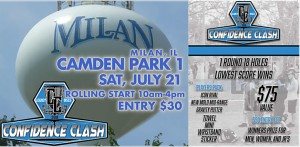 Legacy Discs Confidence Clash at Camden Park 1 presented by LaurenAlexDG graphic