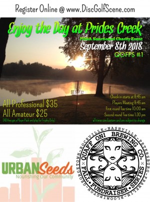 QOFFS #1 - Enjoy the Day at Prides Creek graphic