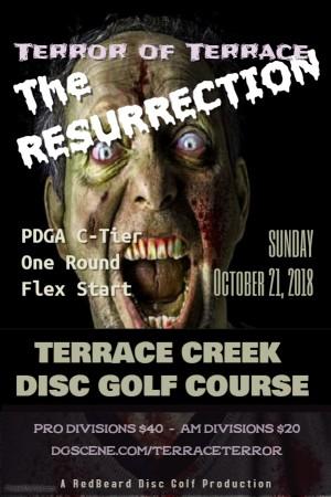 Terror of Terrace - The Resurrection graphic
