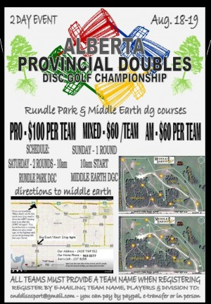 PROVINCIAL DOUBLES CHAMPIONSHIPS graphic