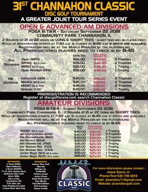 31st Channahon Classic - Pro/Adv graphic