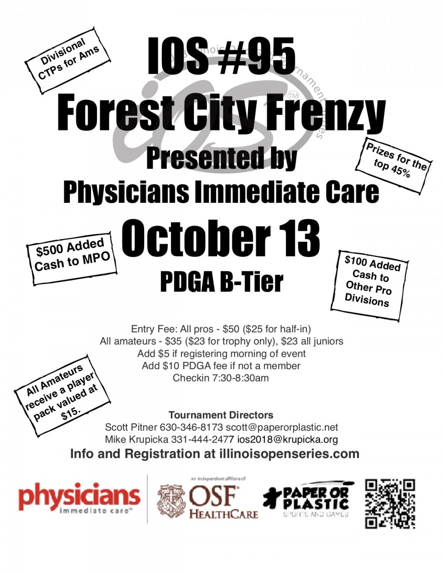 Immediate Care Rockford Il >> Ios 95 Forest City Frenzy 2018 Illinois Open Series
