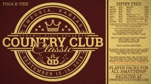 The Country Club Classic presented by Dynamic Discs graphic