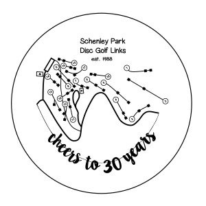 Schenley Park Disc Golf Links 30th Anniversary! graphic