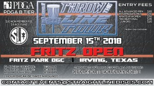 Fritz Open (Amateur only) - Throw the Line Tour Event graphic