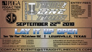 Lay It Up Open - Throw the Line Tour Event graphic