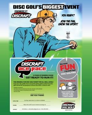 2018 Kansas City Discraft Ace Race graphic