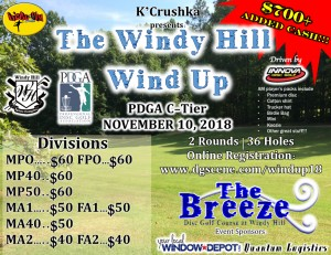 The Windy Hill Wind Up graphic