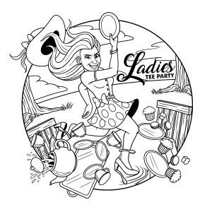 2018 Ladies Tee Party graphic
