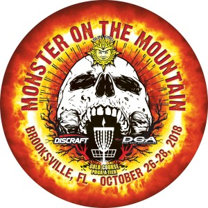 Sun King presents Monster on the Mountain powered by Discraft/DGA graphic