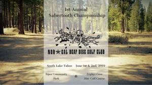 1st Annual Sabertooth Championship 2019 graphic