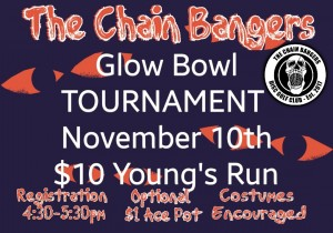 The Chain Bangers Glow Bowl graphic