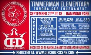 2018 Timmerman Elementary Fundraiser Tournament graphic