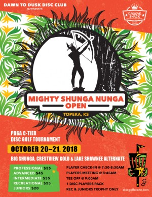 Mighty Shunga Nunga Open graphic