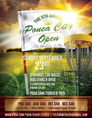Ponca City Open graphic