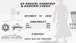 5th Annual Shootout @ Graham Creek Powered by Prodigy graphic