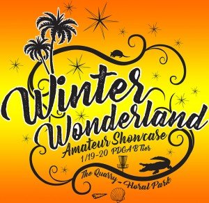 DISC GOLF 1 presents Inaugural Winter Wonderland Amateur Showcase hosted by Sun King Discs graphic