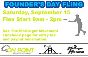 McGregor Founder's Day Fling presented by On Point Service Co. graphic