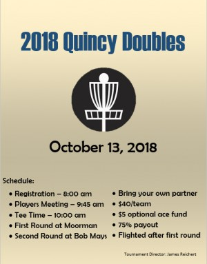 2018 Quincy Doubles graphic