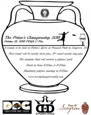 The Potter's Championship 2018 Sponsored by Dynamic Discs graphic