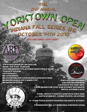 The 2nd Annual Yorktown Open graphic