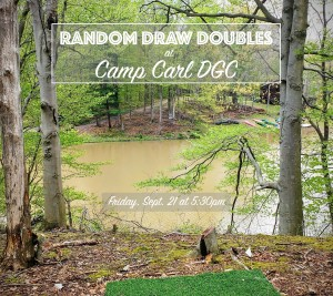 Camp Carl Doubles - Warm Up for the NEO Series Finale graphic