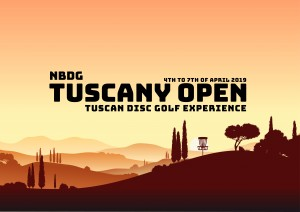 NBDG-X Tuscany Open 2021 - The Tuscan Disc Golf Experience graphic