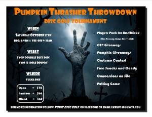 Pumpkin Thrasher Throwdown graphic