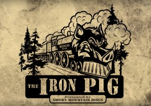 The Iron Pig - Presented by Smoky Mountain Discs graphic
