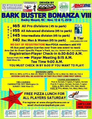 Spike Hyzer's:Bark Buster Bonanza VIII Driven By Innova graphic